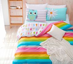 Best price on 100% Cotton Rainbow Owl Bedding Set     Price: $ 90.80  & FREE Shipping     Your lovely product at one click away:   https://mrowlie.com/100-cotton-rainbow-owl-bedding-set/     #owl #owlnecklaces #owljewelry #owlwallstickers #owlstickers #owltoys #toys #owlcostumes #owlphone #phonecase #womanclothing #mensclothing #earrings #owlwatches #mrowlie #owlporcelain