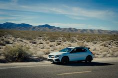 2015 Mercedes-Benz GLA 45 AMG / Mojave desert
