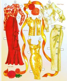 Phyllis McGuire Paper Doll - Katerine Coss - Picasa Webalbum