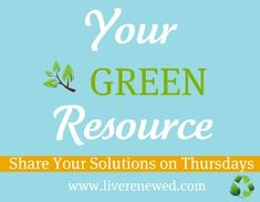 "Live Renewed is all about living green and living frugally, I like to call it ""frugally green"".  Emily"