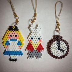 Alice in Wonderland perler beads by ringo_0122