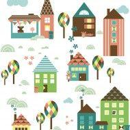 Lilla staden av Anna Boye