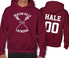 Hale 00 31 Teen Wolf Lacrosse Hoodie Adult Hoodies Beacon