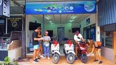 Scooter Shop, Pub Crawl, Beach Bars, Koh Tao, Pedestrian, Beautiful Islands, Snorkeling, Scuba Diving, Thailand