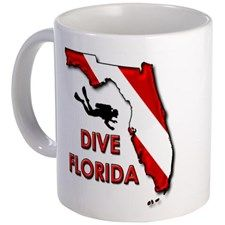 Dive Florida Mug. Create your own mugs