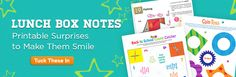 School is back in session! Make midday mealtime a little more fun with these printable lunch box notes. From origami to coin toss games, these printable paper projects and games require minimal effort to put a smile on your child's face.  more