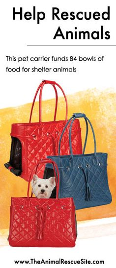 Every purchase at The Animal Rescue Site funds meals for Shelter Animals in need.   Shopping + Helping Animals = Pawsome! Find items for your pets here: www.shop2give.us/PamperedPets