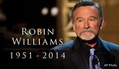 Robin Williams. So sad that he is gone! He will forever be one of my favorites. One of the greats!