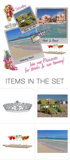 """""""Saturday Beach Day with the Princesses in Honolulu"""" by runners ❤ liked on Polyvore featuring art"""