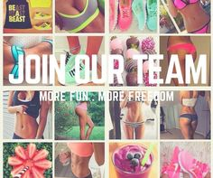 Our team are expanding!!!  Are you interested in health, fitness and nutrition? Why not turn your passion into your pay check?  If you're ambitious, hard working and love having fun - then this is for you! Drop me an inbox message and we can arrange a call. X