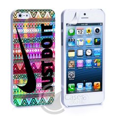 Neon Aztec Nike Just Do It iPhone 4, 4S, 5, 5C, 5S Samsung Galaxy S2, – iCasesStore