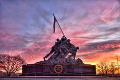Iwo Jima at sunrise #DC