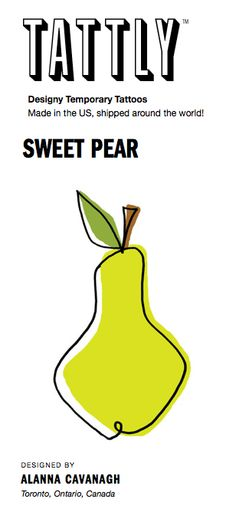My Pear TATTLY released today Oct 12 2013!