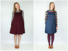 Introducing The Ivy Pinafore Dress Sewing Pattern