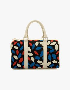 Linda Various Pattern Collections Woman Shoulder   Mini Tote Bags vovobag   vovobag  fashion  women bag  colorful  totebag  travel bag  lip pattern 1c8daf1a812b8