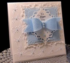 Felt Bow Birthday by jasonw1 - Cards and Paper Crafts at Splitcoaststampers  SB