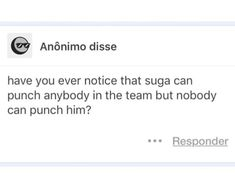 Yes he mostly punches Asahi tho