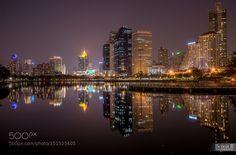 Bangkok by night by benoitbphotography