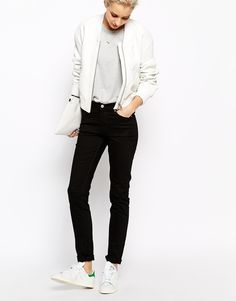 A pair of black skinny jeans are always a good idea, and can easily be dressed up and down! Find them here: http://asos.do/yqbd6D