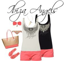 """""""Ibiza Angels"""" by lostinsummer on Polyvore"""