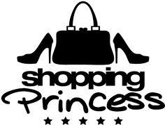 personnaliser tee shirt shopping_princess_pa1