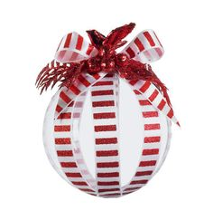 City Sidewalks Candy Striped #Ornament #MichaelsStores