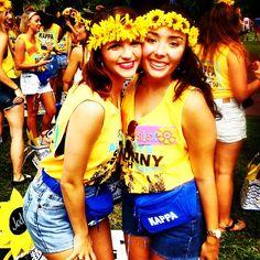 Kappa Kappa Gamma at University of South Carolina #KappaKappaGamma #KKG #Kappa #BidDay #FannyPack #sorority #SouthCarolina