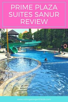 Our full review of Prime Plaza Suites in Sanur Bali. Photos and videos of the kids club, pools, rooms and much more. #bali #baliwithkids #baliaccommodation #balifamilyresorts #sanur Bali With Kids, Travel With Kids, Bali Accommodation, Plaza Suite, Sanur Bali, Kid Pool, Family Resorts, Bali Travel, Beach Resorts