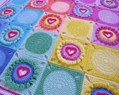 CROCHET PATTERN  Follow Your Heart  a blanket with von TheHatandI