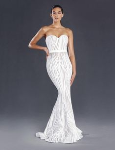 Shop the White Lexington Gown by Jadore with free delivery. A white sequinned strapless sweetheart neckline dress perfect as a wedding dress, bridal gown or debutante dress. Wedding Bridesmaid Dresses, Bridal Dresses, Wedding Gowns, Bridesmaids, Prom Dresses, Sequin Formal Dress, Strapless Dress Formal, School Formal Dresses, Cocktail Length Dress