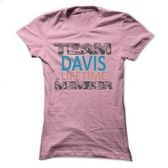 TEAM DAVIS LIFETIME MEMBER- KOOL - #pink shirt #tumblr hoodie. ORDER HERE => https://www.sunfrog.com/Names/TEAM-DAVIS-LIFETIME-MEMBER-KOOL-LightPink-29205322-Ladies.html?68278