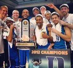 Duke basketball team! Love them with all my heart