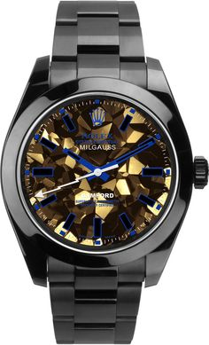 Bamford Milgauss Gold Facet In Blue Multi on shopstyle.com