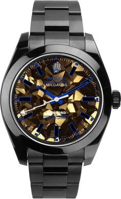 Bamford Milgauss Gold Facet In Blue Multi on shopstyle.com