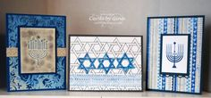 Hanukkah Cards by Gina Shaw - Cards and Paper Crafts at Splitcoaststampers