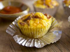 #GlutenFree Bacon Breakfast Cupcakes