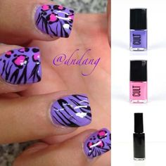 Cute#purple#leopard print