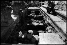 Excavations under the 4th century synagogue to find an earlier structure that could be the 1st century synagogue built by a Roman centurion.