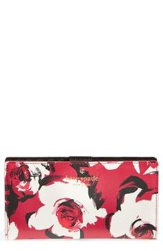 kate spade new york 'cedar street rose - stacy' wallet available at #Nordstrom