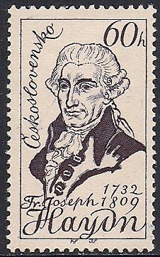 Stamps of Franz Joseph Haydn Classical Music Composers, Classical Period, Old Stamps, Tampons, Pin Up, Stamp Collecting, Mail Art, Musical, Postage Stamps