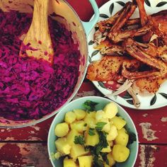 Czech classic feast. Roasted duck, red cabbage, and butter poached potatoes.