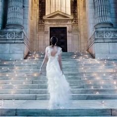 "For the steps at our venue  ""My DIY Wedding Ideas"""