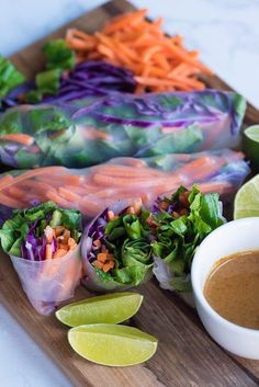 Who doesn't love to pick things up with their hands? I know I do! I love wraps, gluten-free sandwiches, flatbreads…and rolls like this!With my Beauty Detox Summer Rolls Recipe you'll be doing just that- using fresh summer...