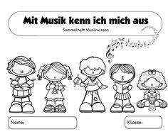 "Booklet ""Music Knowledge"" (Part Since I'm teaching several classes in music again t Music Activities, Preschool Activities, Elementary Education, Music Education, Primary School Teacher, Kindergarten Lesson Plans, Music Pictures, Music For Kids, Music Lessons"