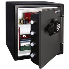 Electronic Fireproof Waterproof Theft Resistant Safe Box Security Storage Lock #SentrySafe
