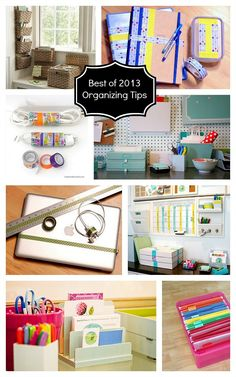 Best of 2013 | Organizing Tips for Home Office