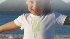 italian high quality t-shirt with lollipop