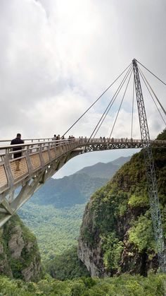 Langkawi Sky Bridge, Malaysia - cross off amazing bucket list item and develop life crushing fear of heights at same time. A twofer!