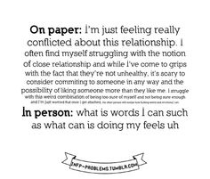 What is stated on paper versus in person… INFP problems also apply to INFJs.