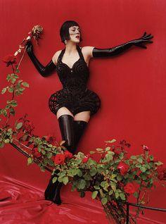 Red Hot W Magazine December 2012 #MarionCotillard #Gaultier by #TimWalker